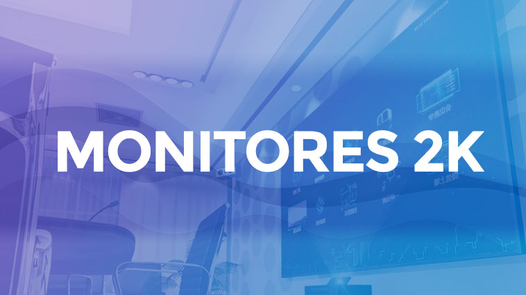 Mejores monitores 2K